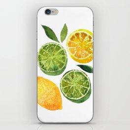 Lemons & Limes iPhone Skin