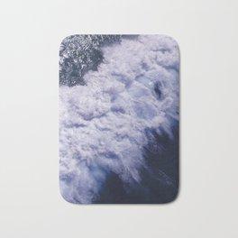 Blue Ocean Waves, Sea Photography, Seascape Bath Mat