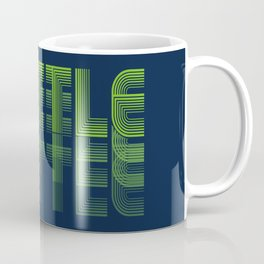 Seasons K Designs Seattle Fade Coffee Mug
