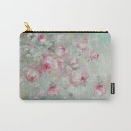 Whispering Petals Carry-All Pouch
