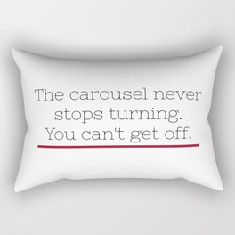 Grey's Anatomy - Ellis Grey Quote. Rectangular Pillow