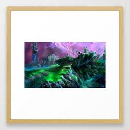 Jungle Hills Framed Art Print