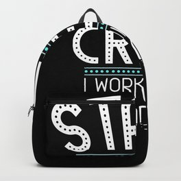 Stage Crew Shirt |Theatre Stage Technician T-shirt, Gift Backpack