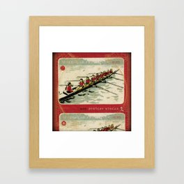 Row Vs. Wade Framed Art Print
