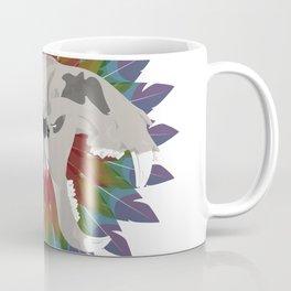 forked tiger skull Coffee Mug
