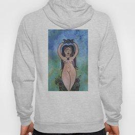 Nude spiral goddess Hoody