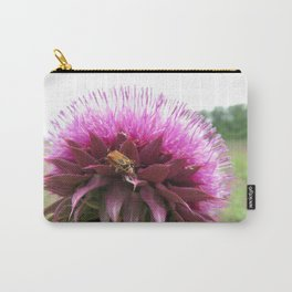 Bug on a thistle Carry-All Pouch
