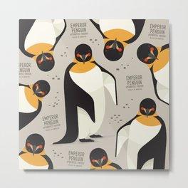 Emperor Penguin, Antarctica Wildlife Metal Print