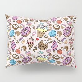 Desserts and Sweets Pillow Sham