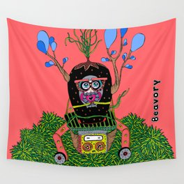 Lily time machine Wall Tapestry