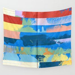 Tape Diary 12 Wall Tapestry