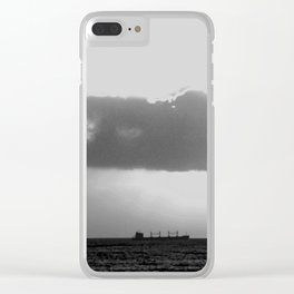 Evening clouds over the sea Clear iPhone Case