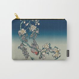Bullfinch and Pugging Cherry Carry-All Pouch
