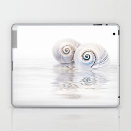 Snail Shells On Water Laptop & iPad Skin