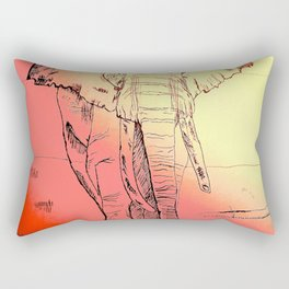 Listen to your Elders Rectangular Pillow