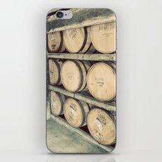 Kentucky Bourbon Barrels Color Photo iPhone & iPod Skin