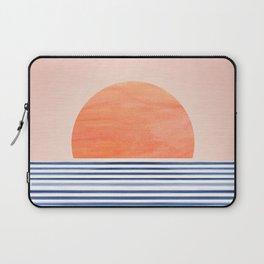 Summer Sunrise - Minimal Abstract Laptop Sleeve