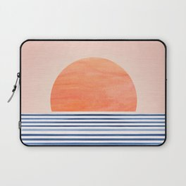 Summer Sunrise - Minimal Abstract Laptop Sleeve