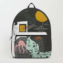 Facts urban art Backpack