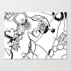 Jewelry Box Canvas Print