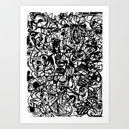 Scan #5 Art Print