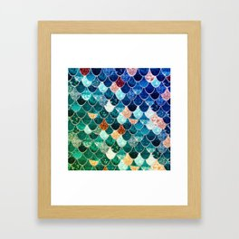REALLY MERMAID TIFFANY Framed Art Print