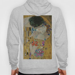 Gustav Klimt - The Kiss (detail) Hoody