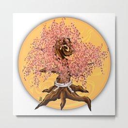 Sakura Full Bloom Metal Print