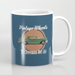 Vintage Wheels - '57 Chevrolet Bel Air Coffee Mug
