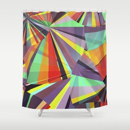 Magic circles number one Shower Curtain