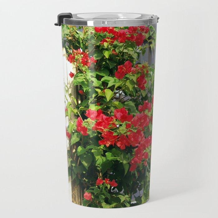Floral collection. Cyprus Travel Mug