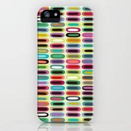 New York lozenge cream iPhone Case