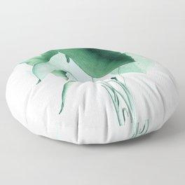 Green Plants Floor Pillow