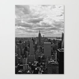 Top of the big apple Canvas Print