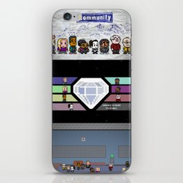 Community - Full Poster iPhone Skin