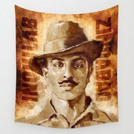 Shaheed-E-Azam Bhagat Singh Wall Tapestry