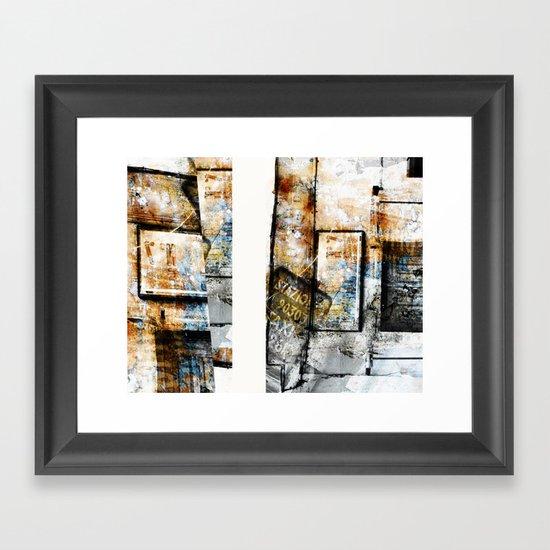 Aphasie Framed Art Print