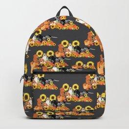 Coonhound Autumn Harvest Grey Backpack