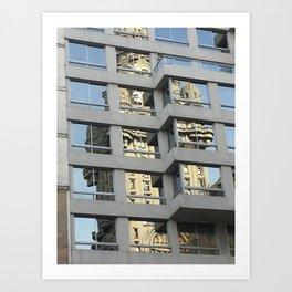 Palacio Salvo Art Print
