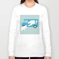 icecream Long Sleeve T-shirts featuring ICECREAM by Coco and the tigers