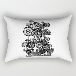 Field of Floweres Rectangular Pillow