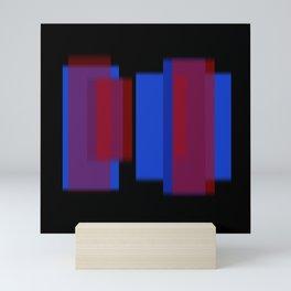 Vertical Blur 5 Mini Art Print