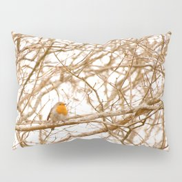 Robin In Early Spring #decor #society6 Pillow Sham
