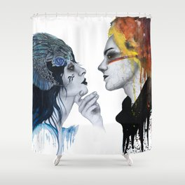 Of Ice and Fire Shower Curtain