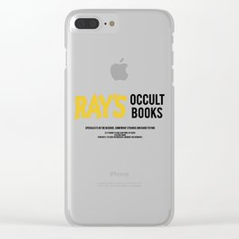 Ray's Occult Books Ghostbusters tribute Clear iPhone Case