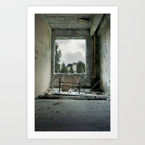 Chernobyl - номер II Art Print