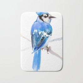 Blue Jay Bath Mat