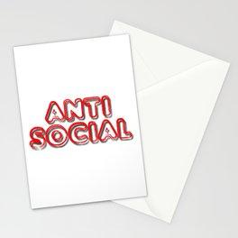Anti Social Stationery Cards