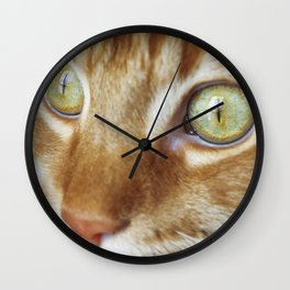 A Window to the Soul Wall Clock