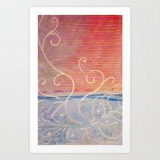 Pink or Blue Art Print